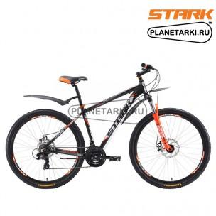 Велосипед Stark Hunter 29.2 D 2017 черно-оранжевый