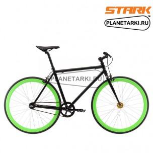 Велосипед Stark Terros 700 SC 2017 черно-зеленый