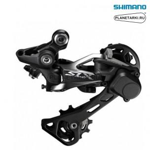 ПЕРЕКЛЮЧАТЕЛЬ ЗАДНИЙ SHIMANO SLX M7000 GS, черный, IRDM700011GS