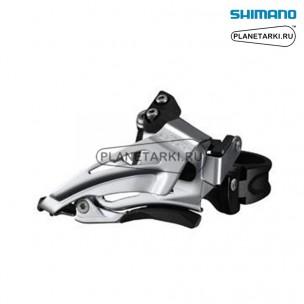 Переключатель передний Shimano Deore FD-M618-L черный, IFDM618LX6