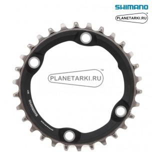 Ведущая звезда Shimano XT CRM70 для FC-M7000-1, 30T, BCD 96, черный, ISMCRM70A0