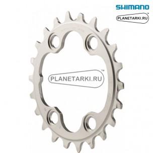 Ведущая звезда Shimano XT для FC-M8000-3, 22T, BCD 64, серебро, Y1RL22000