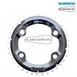 Ведущая звезда Shimano SLX для FC-M7000-2, 36T, BCD 96, черный, Y1VG98020