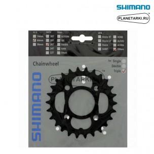 Ведущая звезда Shimano Alivio для FC-T4010, 26T, BCD 64, черный, Y1PN98030