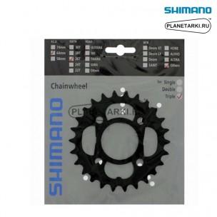 Ведущая звезда Shimano Alivio для FC-M4000/M3000, 22T, BCD 64, черный, Y1PL98030