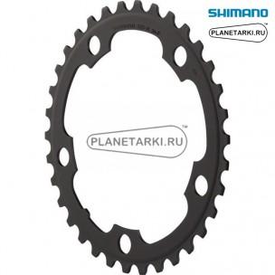 Ведущая звезда Shimano для FC-RS500, 36T, BCD 110, черный, Y1PR36000