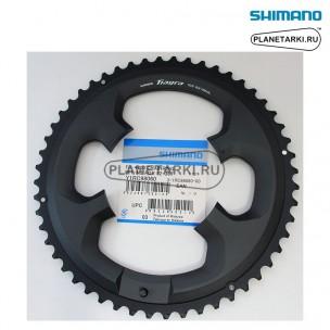 Ведущая звезда Shimano для FC-4700, 52T, BCD 110, черный, Y1RC98060