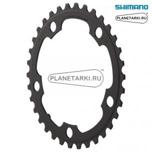 Ведущая звезда Shimano для FC-3550, 34T, BCD 110, черный, Y1NB34000