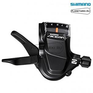 Шифтер Shimano Acera SL-M3000, правый, 9 ск., черный, ESLM3000RA
