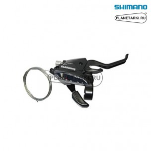 Комбошифтер Shimano Tourney EF510, правый, 8 ск., черный, ESTEF5102RV8AL