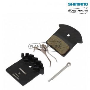 Тормозные колодки для дискового тормоза Shimano J02A, Y8LW98040
