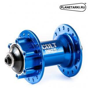 Втулка передняя Colt Bikes CUP QR голубой