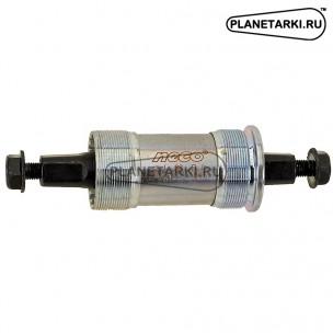 Каретка-картридж NECO 113.5 / 23 мм, стальные чашки, серебристая