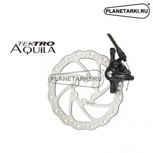 Тормоз дисковый задний механический TEKTRO Aquila MD-M500 черный