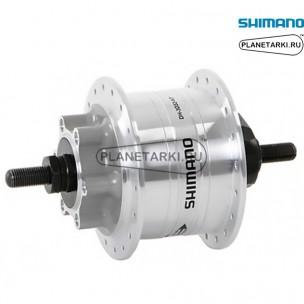 динамо-втулка shimano dh-3d32 36 отв, под дисковые тормоза 6 болт