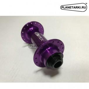 Втулка передняя для фэтбайка Bitex FB-MTF15/20 фиолетовая