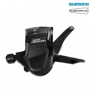 Шифтер Shimano Acera SL-M3010, левый, 2 ск., черный, ESLM3010LB