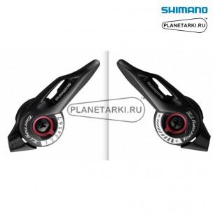 Шифтер Shimano Tourney SL-TZ500, пара, 3х7 ск., черный, ESLTZ5007PA