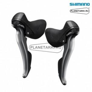 Комбошифтер Shimano Claris ST-R2030, пара, 3х8 ск., черный, ESTR2000TPA