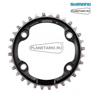 Ведущая звезда Shimano XT CRM81 для FC-M8000-1, 32T, BCD 96, черный, ISMCRM81A2