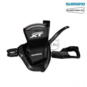 Шифтер Shimano Deore XT SL-M8000, левый, 2/3 ск., черный, ISLM8000LBP2
