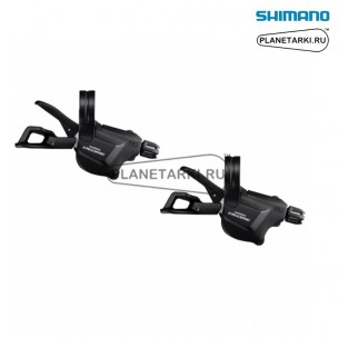 Шифтер Shimano Deore XT SL-M6000-I, пара, 2/3x10 ск., черный, ISLM6000PA1