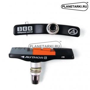 Тормозные колодки цветные AUTHOR ABS-3CC-Alu