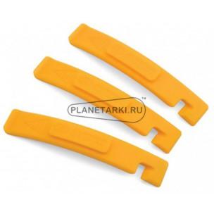 монтировки  пластиковые  с крючками author желтые