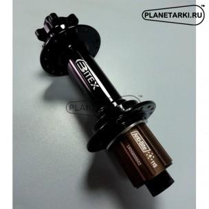 Втулка задняя Bitex FB-MTR12-197 для фэтбайка, стальной барабан-Shimano, чёрная