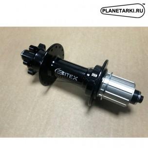 Втулка задняя Bitex FB-MTR12-177 для фэтбайка, стальной барабан-Shimano, чёрная