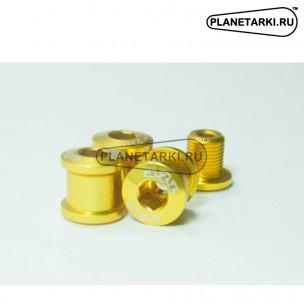 Бонки A2Z 1x-Ring 7075-T6 комплект (4 шт) золотистые