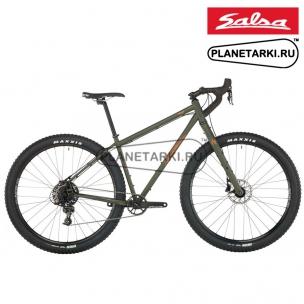 Велосипед Salsa Fargo Apex 1 2020 olive