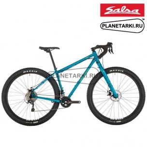Велосипед Salsa Fargo Tiagra 2020 teal