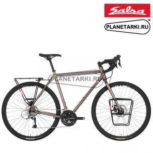 Велосипед Salsa Marrakesh Sora 700C 2020, dark grey
