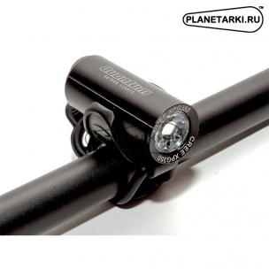 Фара AUTHOR A-QUANTUM LED CREE XP-G2, USB, черная