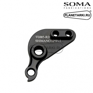 Дропаут слайдера IRD для рам SOMA, правый, для оси 142mm от SHIMANO Rt Side
