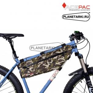 Сумка на рамы ACEPAC Zip Frame Bag L, камуфляж