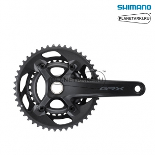 Система Shimano GRX RX600, 172.5 mm, 46/30T, BCD 110/80, черный