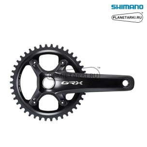 Система Shimano GRX RX810-1, 172.5 mm, 42T, BCD 110, черный