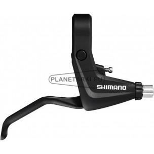 тормозная ручка shimano alivio t4000, левая, v-br, черная