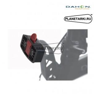 DAHON QUICK COUPLER, Быстросъёмное устройство для установки на кронштейн VALET TRUSS корзины и сумки, NDH14005