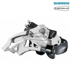 переключатель передний shimano alivio fd-m4000 серебро, efdm4000tsx6