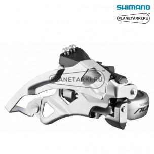переключатель передний shimano alivio fd-т4000 серебро, efdt4000tsx6