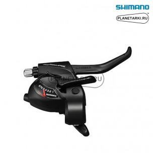 комбошифтер shimano tourney st-tx800, правый, 8 ск., черный, esttx800r8al