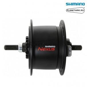 динамо-втулка shimano dh-с6000-2r, под роллеррный торм. 32отв, черный