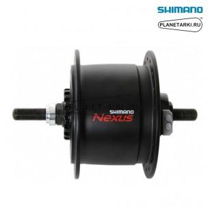 динамо-втулка shimano dh-с6000-2r, под роллеррный торм. 36отв., черный