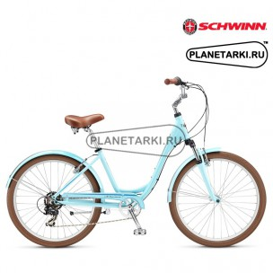 SCHWINN STREAMLINER 1 WOMEN 2016 голубой