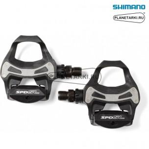 педали shimano pd-r550 spd-sl черные, epdr550l