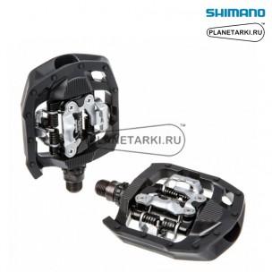 педали shimano pd-mt50 click'r черные, epdmt50