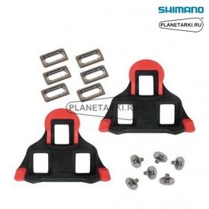 шипы shimano spd-sl sm-sh10 черный, y42u98020